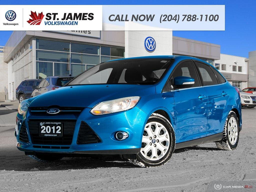 Pre-Owned 2012 Ford Focus SEL, BLUETOOTH, FOG LIGHTS, TWO SETS OF TIRES