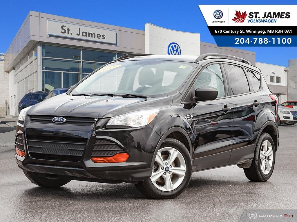 Pre-Owned 2015 Ford Escape S 2.5L, ALLOY RIMS, BLUETOOTH, REAR VIEW CAMERA