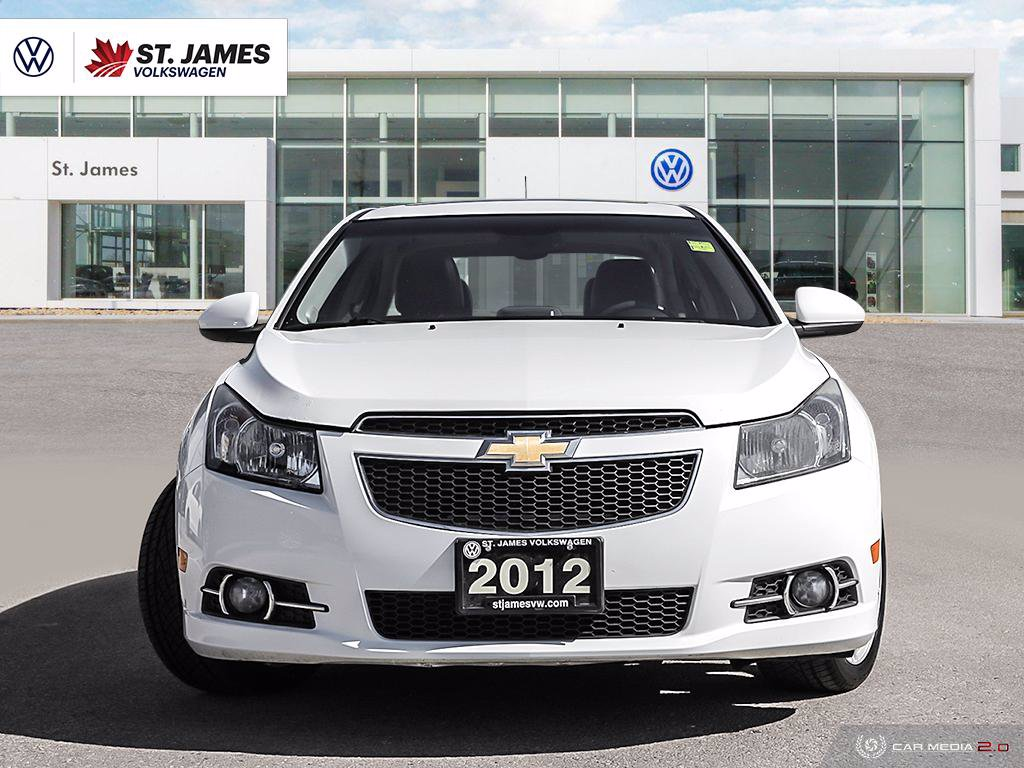 Pre-Owned 2012 Chevrolet Cruze LTZ Turbo ***AS-TRADED***