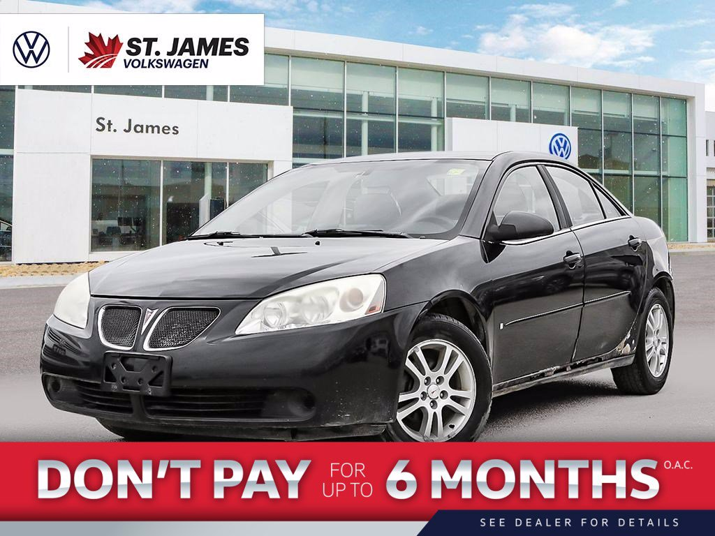 Pre-Owned 2006 Pontiac G6 ***As-Traded***