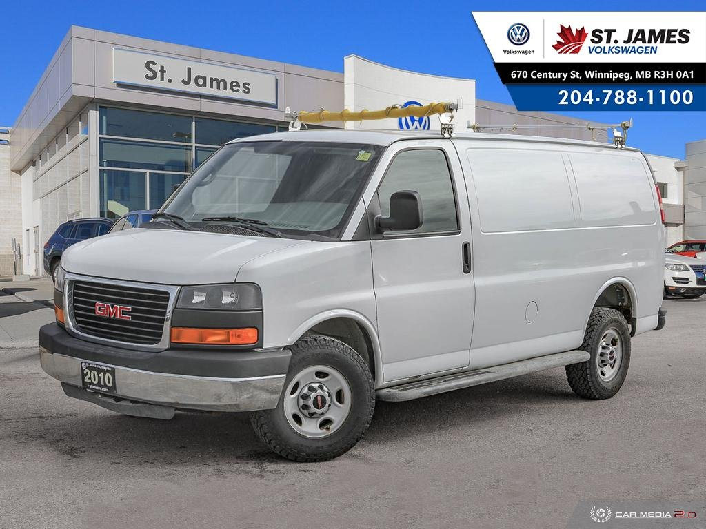 Pre-Owned 2010 GMC Savana Cargo Van FRESH SAFETY! AC! NO ACCIDENTS!