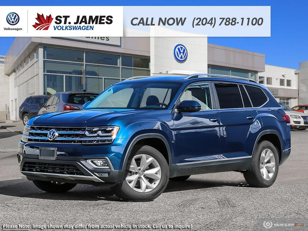 Pre-Owned 2019 Volkswagen Atlas Highline