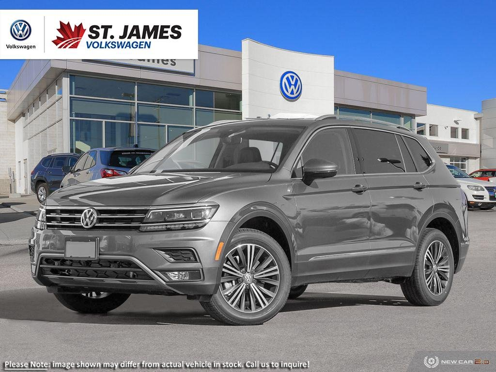 Pre-Owned 2019 Volkswagen Tiguan Highline ***DEMO*** Price Includes Winter Tires