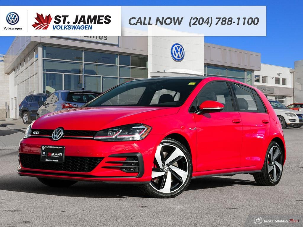 Pre-Owned 2018 Volkswagen Golf GTI Autobahn 2.0TSI, 228 HP, 258 TORQUE, LOCAL ONE OWNER, CLEAN CARFAX