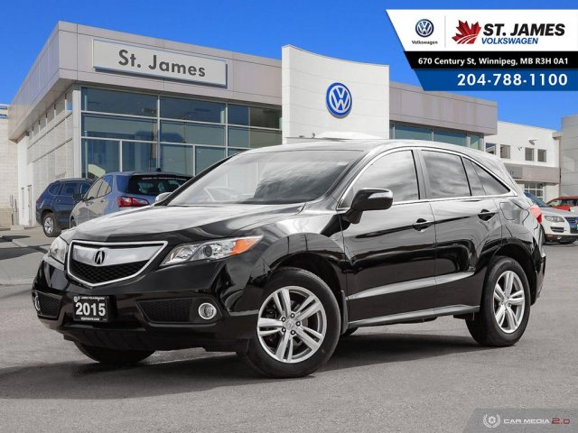 Pre-Owned 2015 Acura RDX LEATHER, SUNROOF, HEATED SEATS