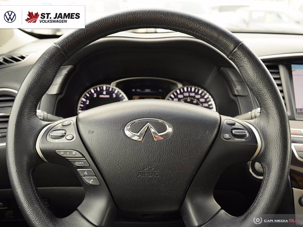 Pre-Owned 2013 INFINITI JX35 3.5 AWD Clean CarFax, 18 Alloy Wheels, Leather Seats, Remote Start, Navigation, Heated Seats