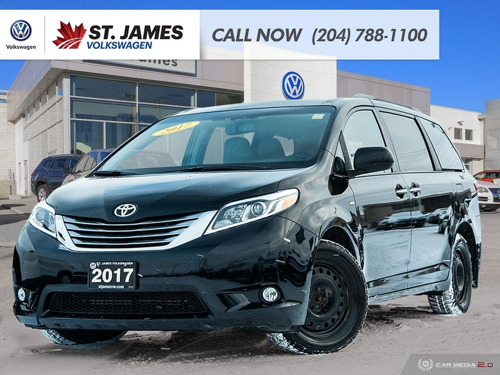 Pre-Owned 2017 Toyota Sienna XLE NAVIGATION, WINTER TIRES & SUMMER TIRES