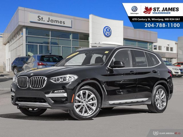 Pre-Owned 2019 BMW X3 xDrive30i PANORAMIC SUNROOF, HEATED SEATS, AWD