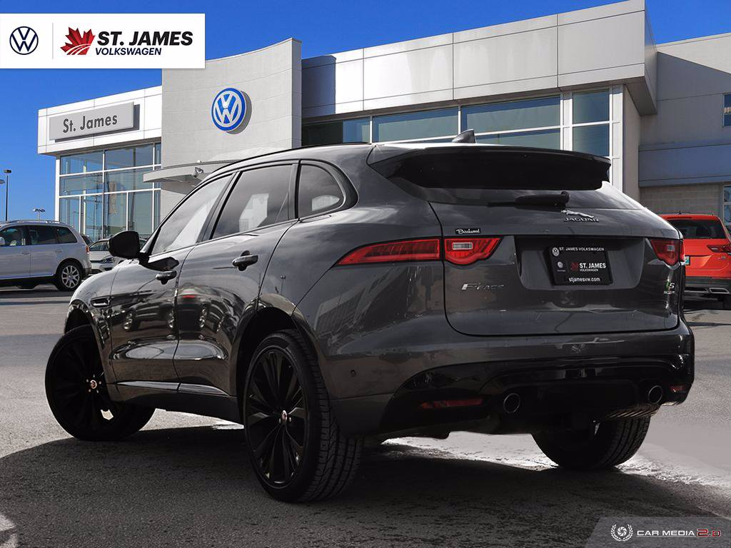 Pre-Owned 2017 Jaguar F-PACE S 3.0L Clean CarFax, $15,000 of factory options.