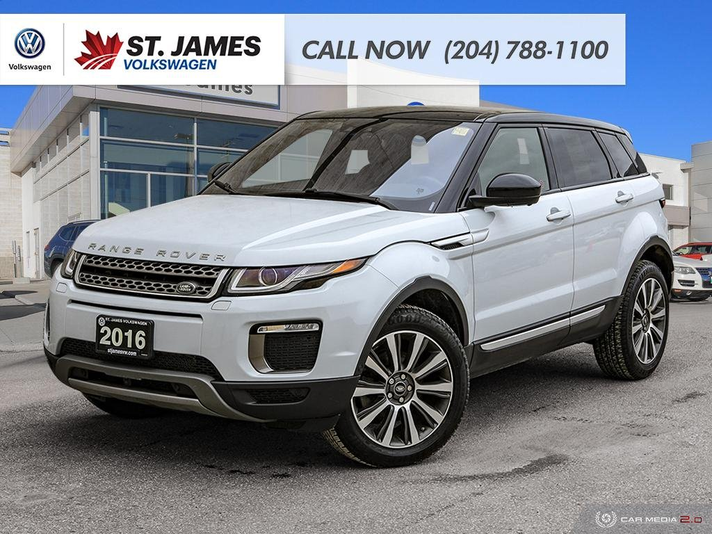 Pre-Owned 2016 Land Rover Range Rover Evoque HSE LEATHER, PANORAMIC SUNROOF, HEATED SEATS