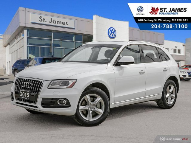 Pre-Owned 2015 Audi Q5 3.0T Progressiv, LEATHER, HEATED SEATS, PANORAMIC SUNROOF