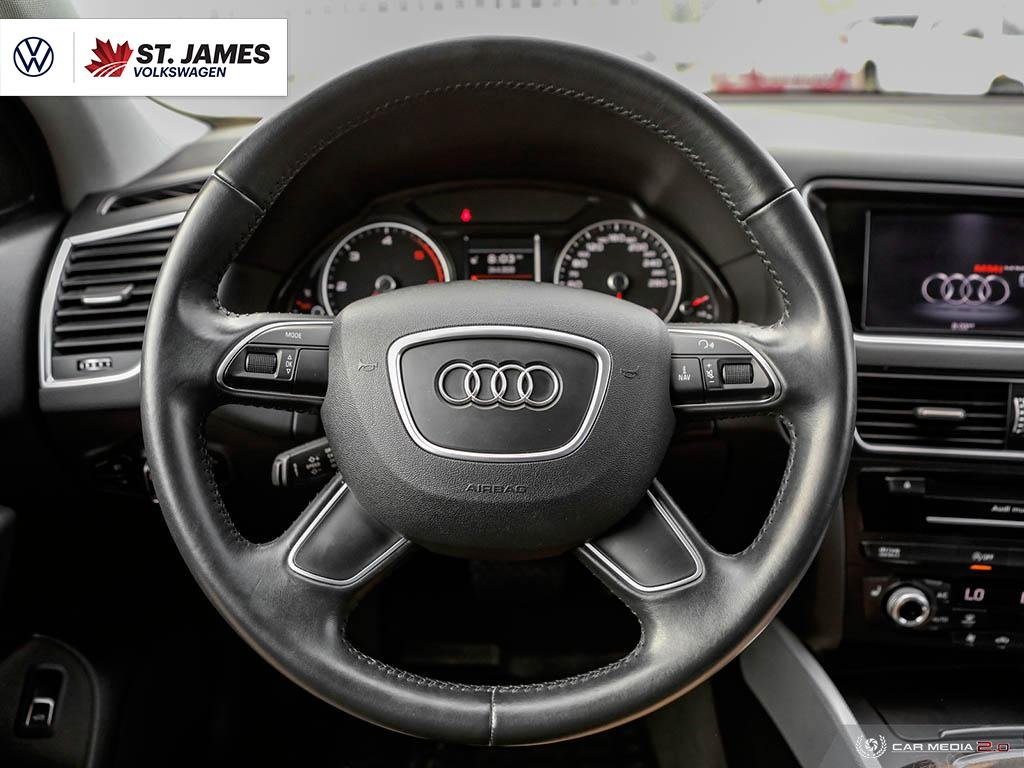 Pre-Owned 2015 Audi Q5 3.0L TDI Progressiv One Owner, 18 Alloy Wheels, Panoramic sunroof, Back-Up Camera, Navigation