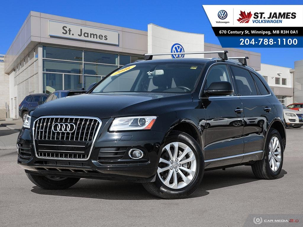 Pre-Owned 2016 Audi Q5 2.0T Progressiv QUATTRO, LEATHER, HEATED SEATS