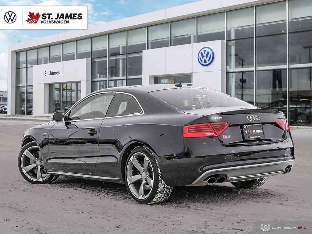 Pre-Owned 2016 Audi S5 Progressiv plus 3.0L AWD, Clean CarFax, Rain Sensing Wipers, Power Sunroof, Memory Seats