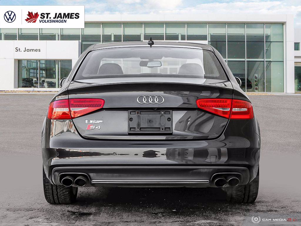 Pre-Owned 2014 Audi S4 Technik 3.0TFSI Quattro, LEATHER, HEATED SEATS, SUMMER & WINTER TIRES