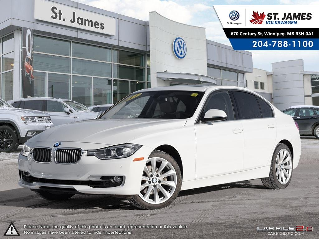 Pre-Owned 2014 BMW 3 Series 328i xDrive, HEATED LEATHER SEATS, SUNROOF, REAR VIEW CAMERA, NAVIGATION