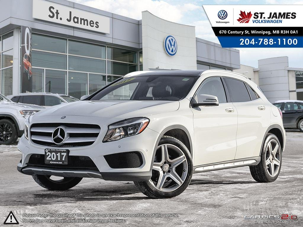 Pre-Owned 2017 Mercedes-Benz GLA GLA 250 4MATIC, REAR VIEW CAMERA, LEATHER, SUNROOF