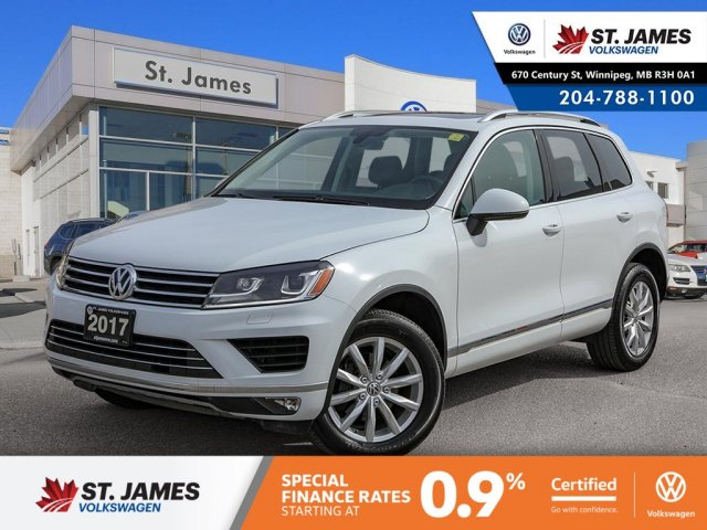Certified Pre-Owned 2017 Volkswagen Touareg Sportline
