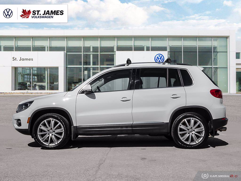 Certified Pre-Owned 2017 Volkswagen Tiguan Comfortline, Clean Carfax, Navigation, Panoramic Sunroof
