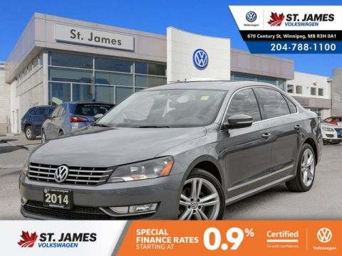 Certified Pre-Owned 2014 Volkswagen Passat Highline
