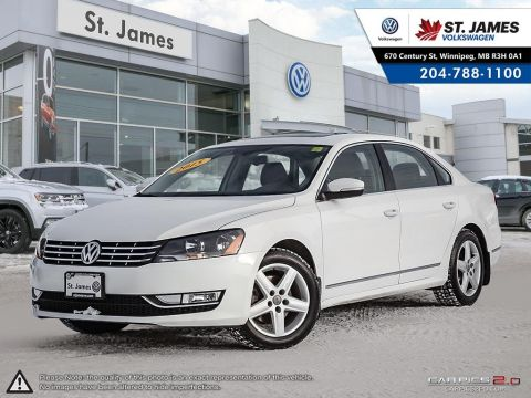 Certified Pre-Owned 2015 Volkswagen Passat Highline 1.8 TSI, WINTER TIRES, NAVIGATION, LEATHER SEATS, HEATED SEATS