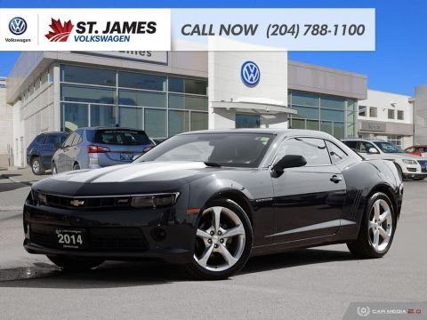 Pre-Owned 2014 Chevrolet Camaro 2LT RS, HEATED SEATS, BLUETOOTH, SUNROOF