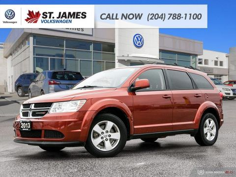 Pre-Owned 2013 Dodge Journey Canada Value Pkg, BLUETOOTH, DUAL ZONE CLIMATE, PUSH BUTTON START