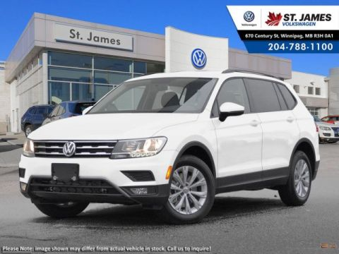 New 2018 Volkswagen Tiguan Trendline ***2018 MODEL YEAR CLEAR OUT***