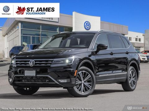 Pre-Owned 2019 Volkswagen Tiguan Highline ***DEMO*** Price Includes Winter Tire Package