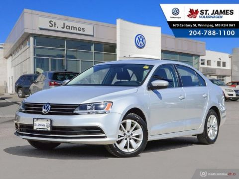 Pre-Owned 2015 Volkswagen Jetta Sedan 2.0L 5-SPEED, SUNROOF, ALLOY RIMS, HEATED SEATS