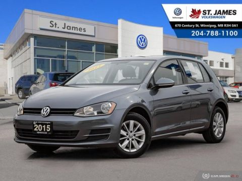 Pre-Owned 2015 Volkswagen Golf Trendline 1.8TSI, BLUETOOTH, HEATED SEATS, 15 ALLOY RIMS