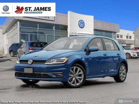 Pre-Owned 2018 Volkswagen Golf Highline ***DEMO***