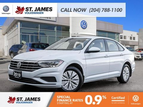 Certified Pre-Owned 2019 Volkswagen Jetta Comfortline 1.4TSI, CARPLAY/ANDROID AUTO, HEATED SEATS, REAR VIEW CAMERA