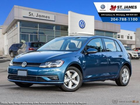 New 2018 Volkswagen Golf Comfortline ***2018 MODEL YEAR CLEAR OUT***