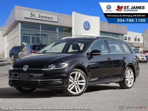 New 2019 Volkswagen Golf SportWagen Execline