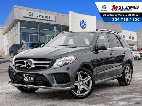 Pre-Owned 2016 Mercedes-Benz GLE GLE 350d NAVIGATION, LEATHER, 360 VIEW CAMERA