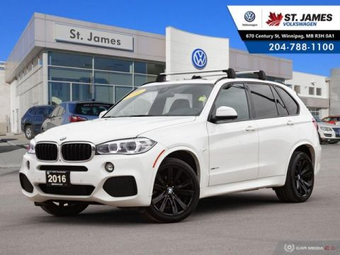 Pre-Owned 2016 BMW X5 xDrive35i M-SPORT PACKAGE, M-AERODYNAMICS PACKAGE, SOFT CLOSE DOORS