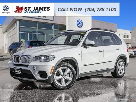 Pre-Owned 2012 BMW X5 35d HEATED SEATS, LEATHER, HEATED STEERING WHEEL