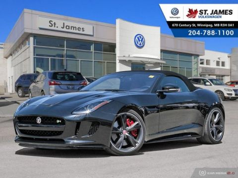 Pre-Owned 2017 Jaguar F-TYPE R - Convertible AWD - NAVIGATION, REAR VIEW CAMERA, 550HP