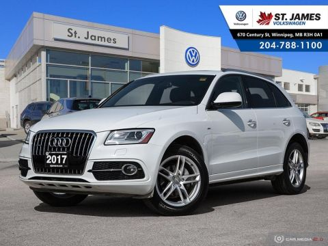 Pre-Owned 2017 Audi Q5 2.0T Progressiv QUATTRO, LEATHER, NAVIGATION, PANORAMIC SUNROOF