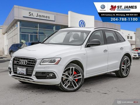 Pre-Owned 2017 Audi SQ5 3.0T Dynamic Edition