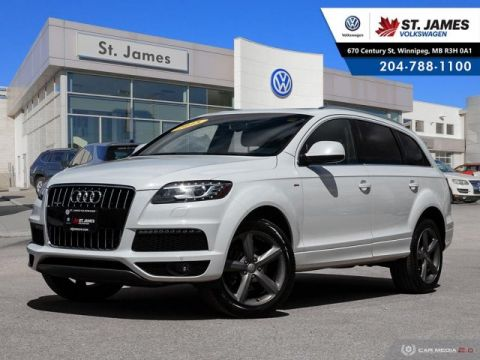 Pre-Owned 2015 Audi Q7 3.0T Vorsprung Edition QUATTRO, LEATHER, BLUETOOTH, PANORAMIC SUNROOF