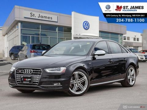Pre-Owned 2015 Audi S4 Technik 3.0T, NAVIGATION, LEATHER, HEATED SEATS