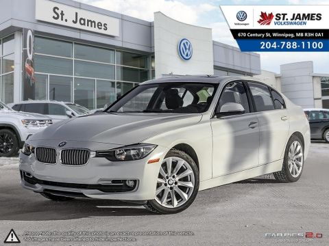 Pre-Owned 2014 BMW 3 Series 320i xDrive AWD, SUNROOF, LEATHER, HEATED SEATS,