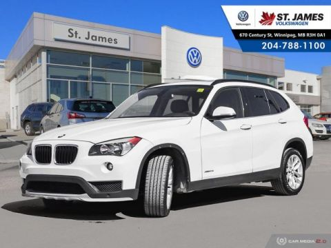 Pre-Owned 2015 BMW X1 xDrive28i LEATHER, HEATED SEATS, SUNROOF