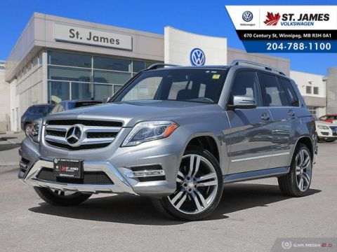 Pre-Owned 2015 Mercedes-Benz GLK GLK 250 BlueTec LEATHER, NAVIGATION, REAR VIEW CAMERA