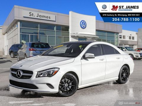 Pre-Owned 2018 Mercedes-Benz CLA CLA 250 4MATIC, HEATED SEATS, LEATHER, SUNROOF