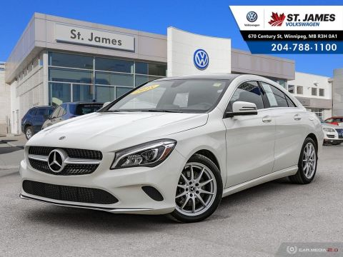 Pre-Owned 2018 Mercedes-Benz CLA CLA 250 4MATIC, HEATED SEATS, LEATHER, REAR VIEW CAMERA