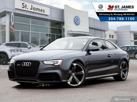 Pre-Owned 2013 Audi RS5 RS5 V8 AUTO 7-SPEED DUAL CLUTCH, QUATTRO, 450 HORSE POWER