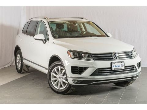 Pre-Owned 2017 Volkswagen Touareg Sportline 3.6VR6, NAVIGATION, PANORAMIC SUNROOF